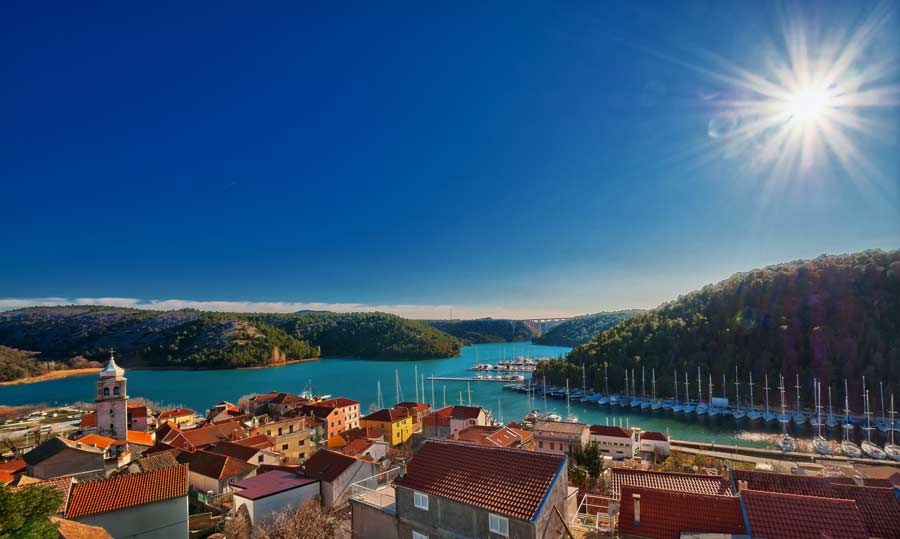 SKRADIN one of the BEST PLACES TO VISIT IN CROATIA