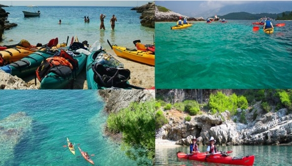 kayaking trogir and drvenik