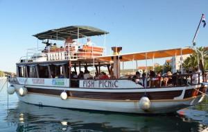 Fish picnic boat