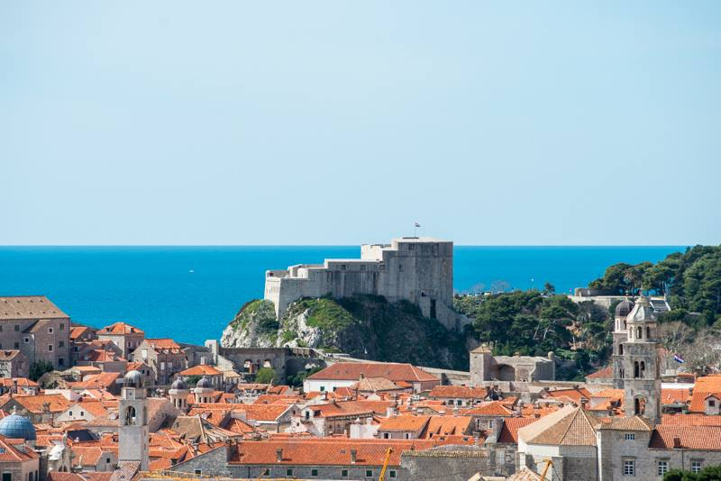 dubrovnik fortress game of thrones