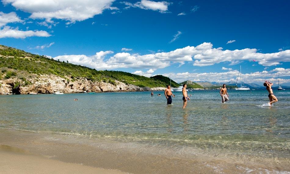 lopud island beach